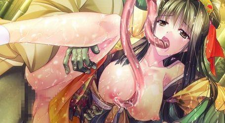 【美少女エロゲ】妖怪世界の抗争で美少女達がレイプされる!アヤカシ散華