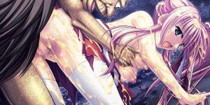 【美少女エロゲ】美少女巫女のちはやが妖怪に敗北凌辱レイプ!神楽黎明期!